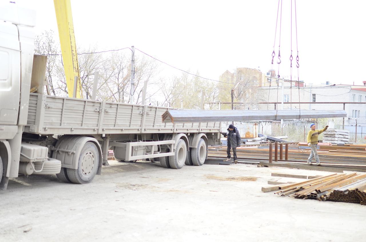 Разгрузка металла Киев