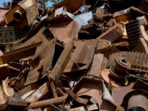 Прием металлолома в больших объёмах