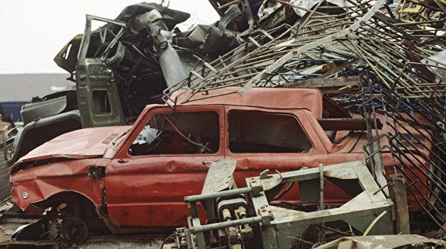 Резка металлолома Киев