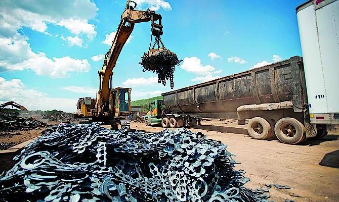 Сдать промышленный металлолом