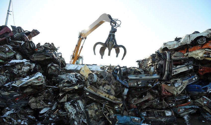 Сдать машину в металлолом Киев