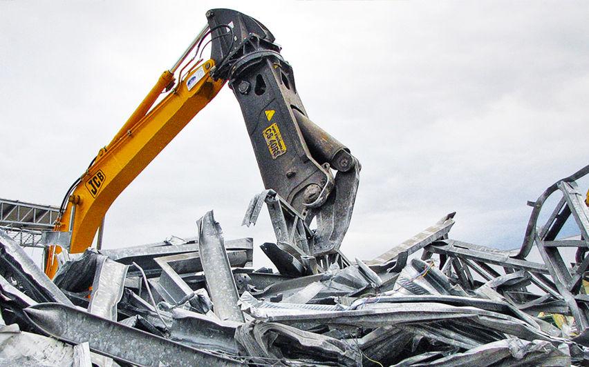 Бесплатный демонтаж металлоконструкций на металлолом