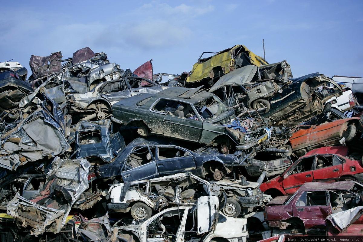 Услуги по разгрузке металлолома Киев
