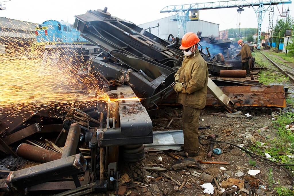 Демонтаж железнодорожных путей Киевская область