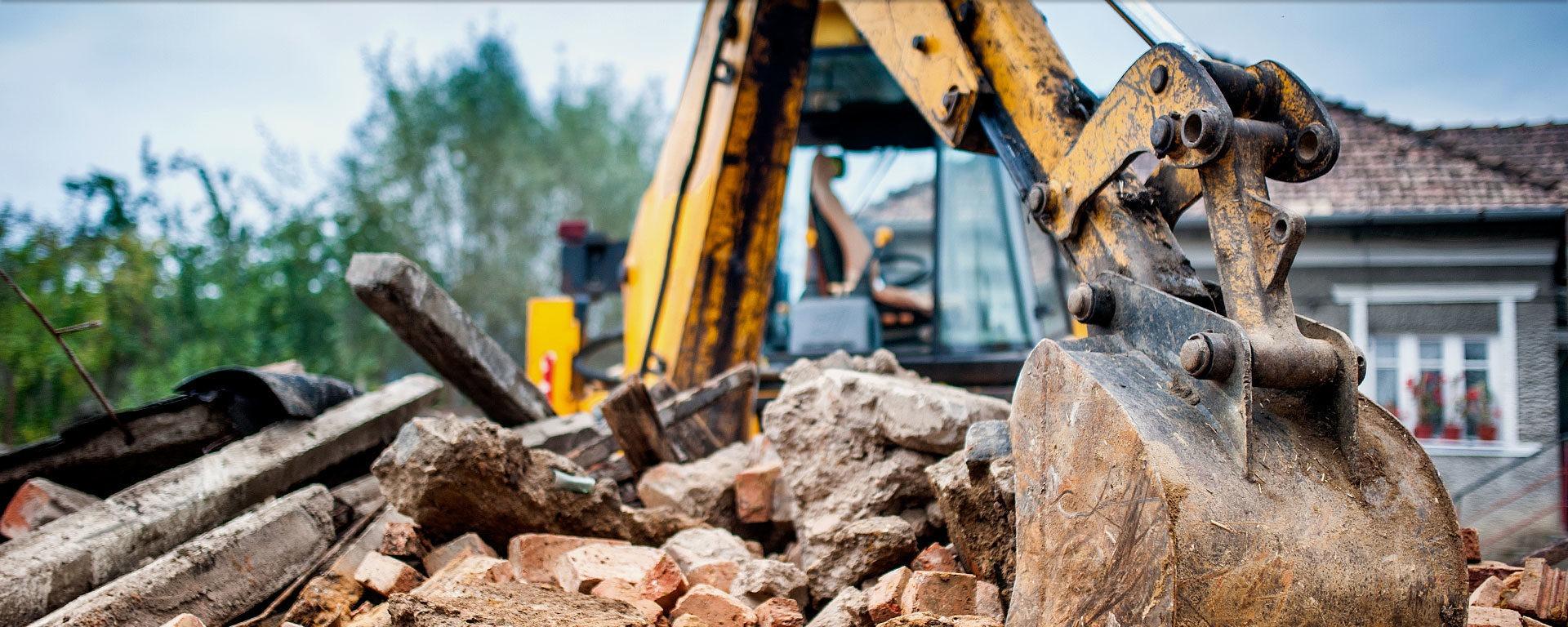 Демонтаж непригодных несущих конструкций Киев