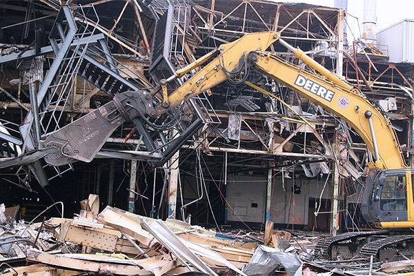 Услуги по демонтажу металлоконструкций в Киеве