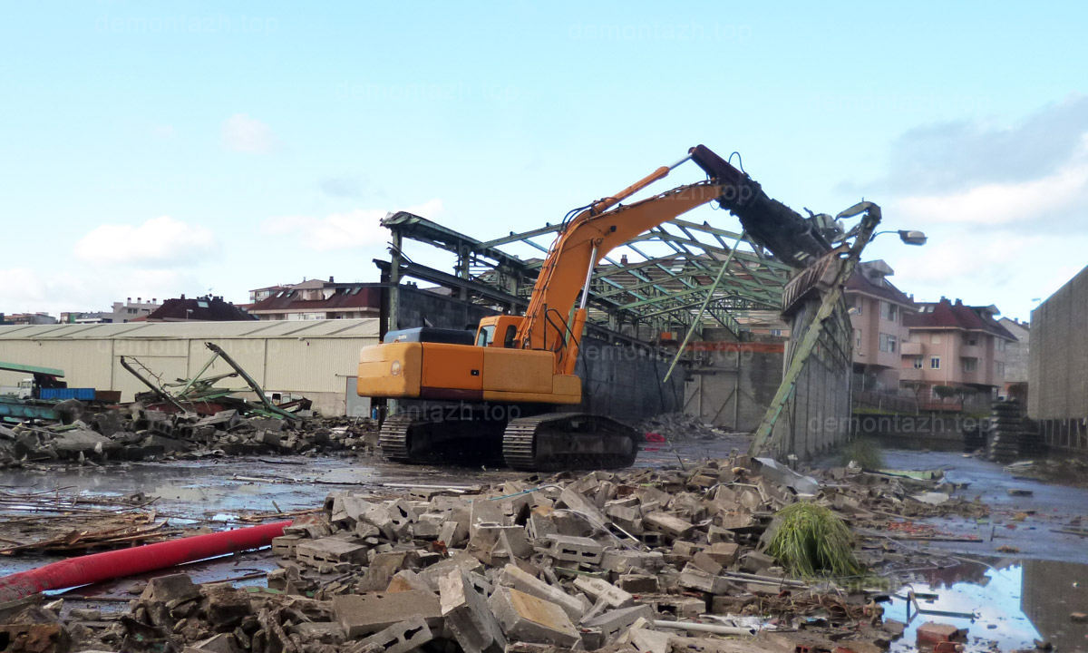 Демонтаж металлоконструкций цена за тонну Киев