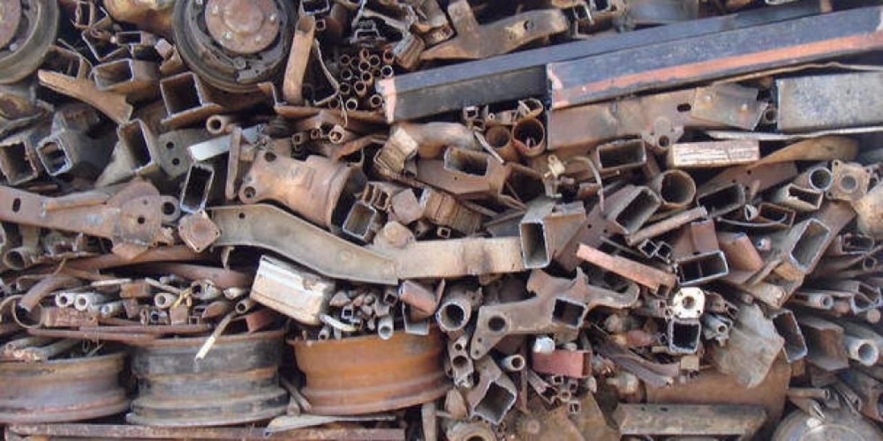 Вывоз металлолома больших объёмов