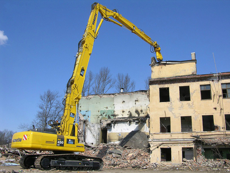Демонтаж металлоконструкций зданий