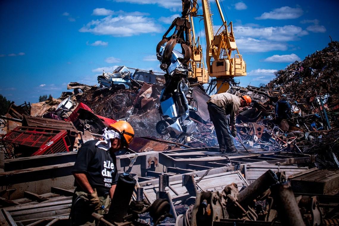 Пункт приема и вывоз металлолома Киев